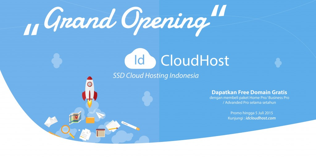 Grand Launching IDCloudHost