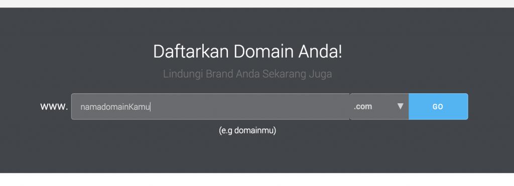 Cara Order Domain IDCloudHost