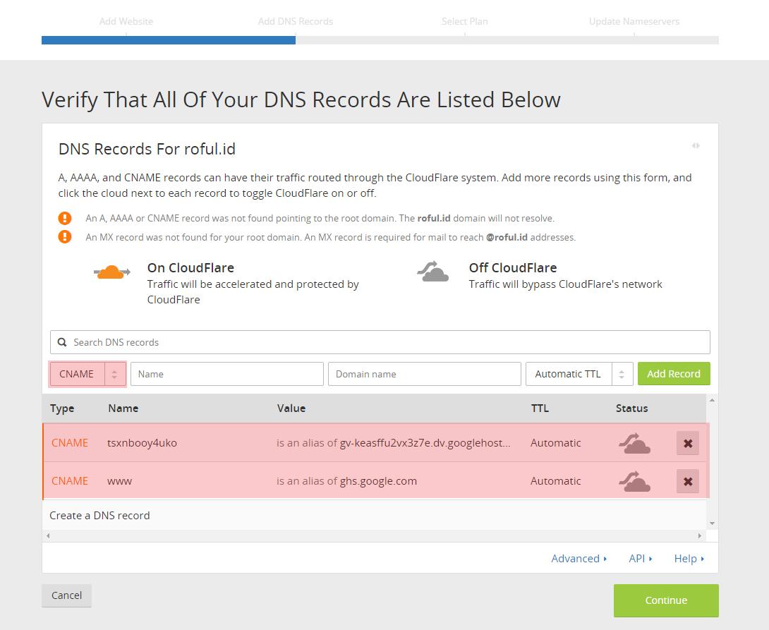 Tutorial Merubah Alamat Blogspot Menjadi Domain .id | IDCloudHost