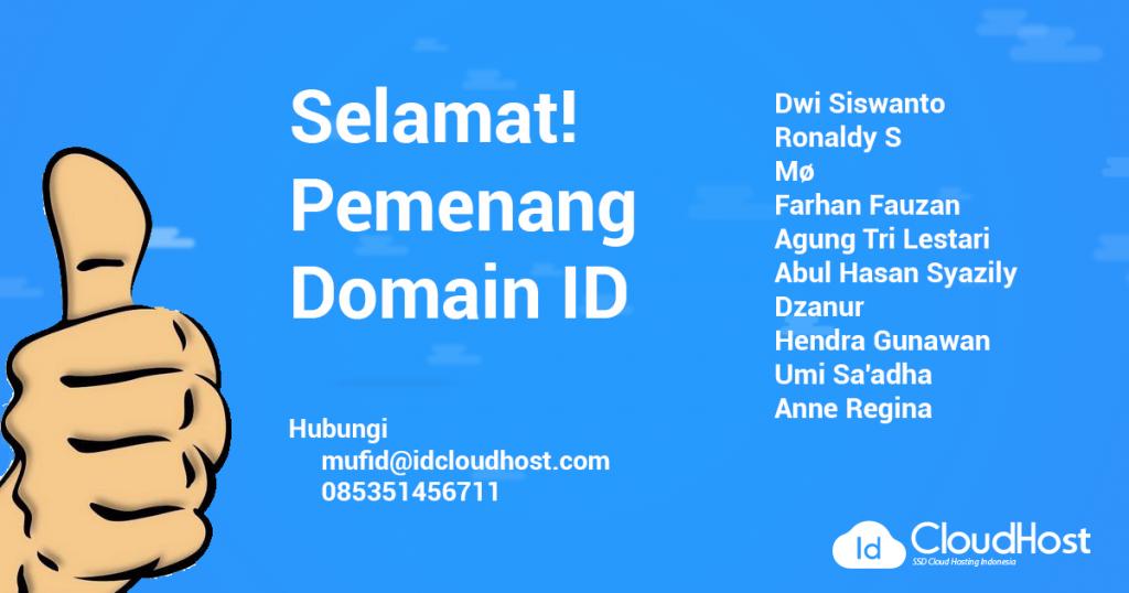 Pemenang Domain ID