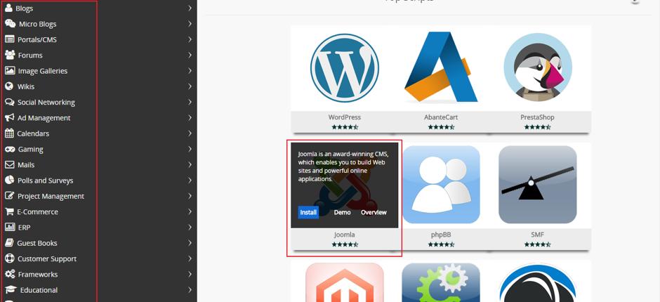 Tutorial Install Aplikasi web menggunakan Softaculous 2