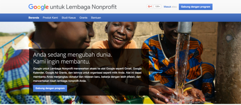 Aktifasi Google Apps pada Akun Google for NonProfit 1