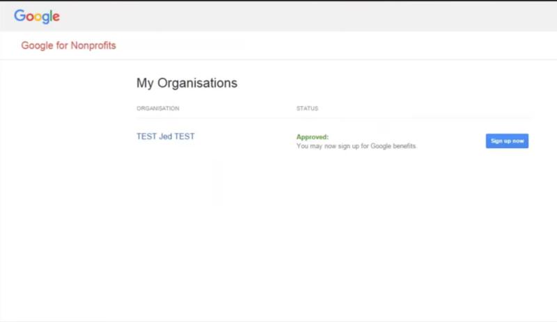 Mengaktifkan Akun Google For NonProfit dengan Validasi Token Techsoup Asia 10