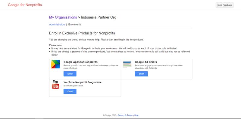 Mengaktifkan Akun Google For NonProfit dengan Validasi Token Techsoup Asia 9