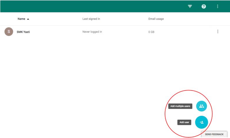 Tutorial Menambahkan Email di Google Apps 2