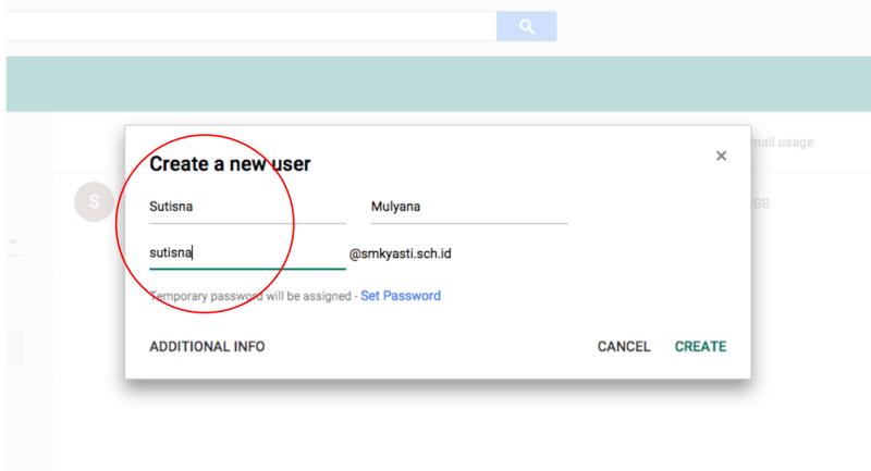 Tutorial Menambahkan Email di Google Apps 3