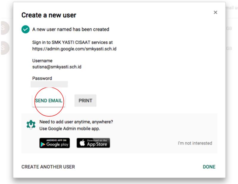 Tutorial Menambahkan Email di Google Apps 5
