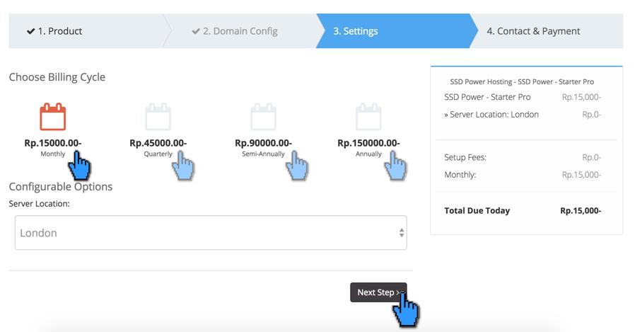 Cara Order Layanan Hosting Domain