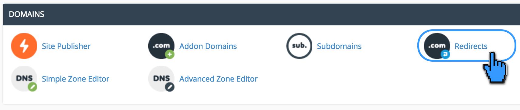 Cara Redirects Domain Melalui Cpanel 2