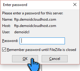 Cara Upload File Website ke Hosting dengan FileZilla 12 (pointer)