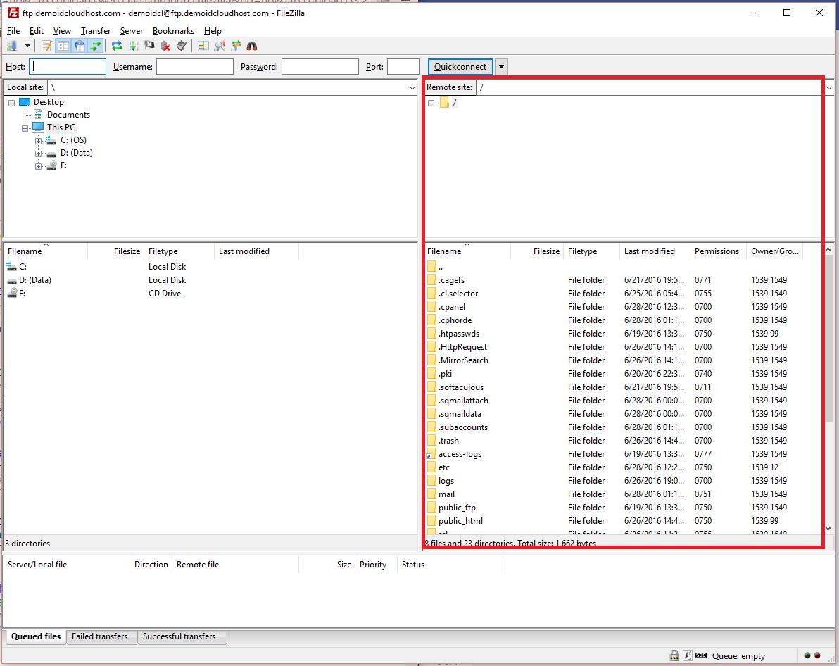Cara Upload File Website ke Hosting dengan FileZilla 14