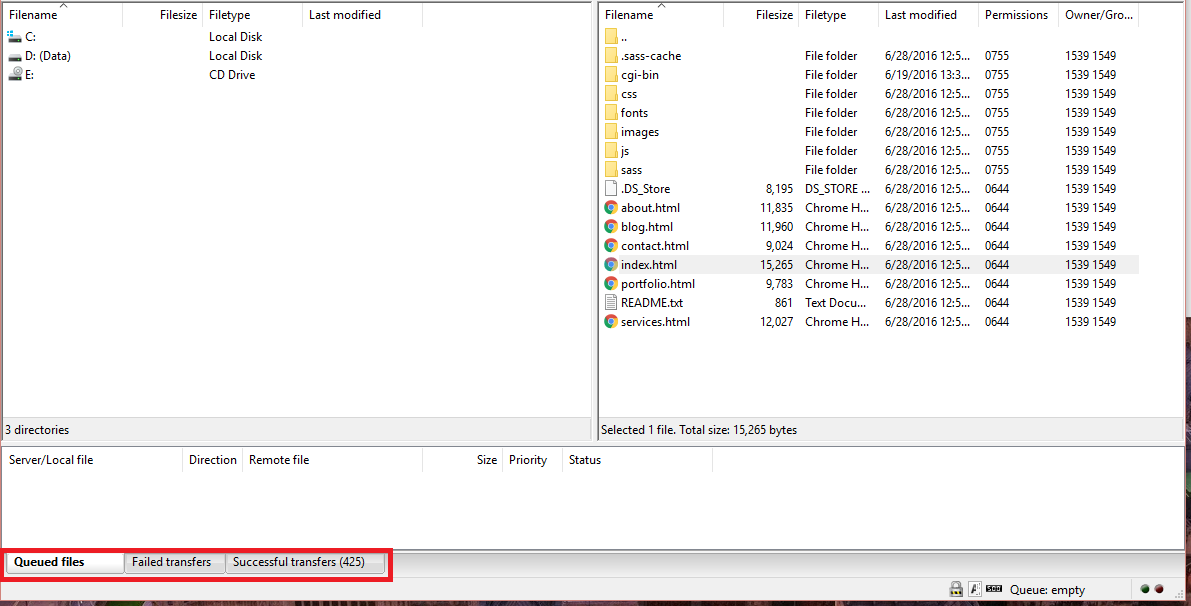 Cara Upload File Website ke Hosting dengan FileZilla 18