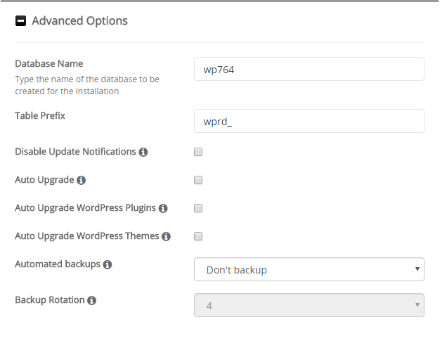 Cara instalasi wordpress di cPanel 10
