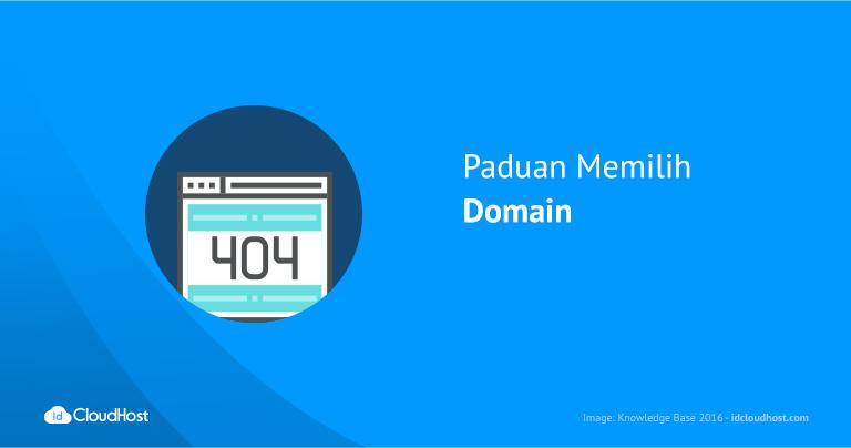 Paduan Memilih Domain