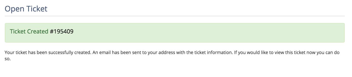 Pengajuan ticket IDCloudHost 7
