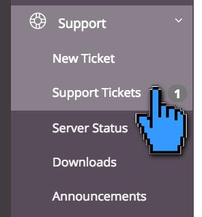 Pengajuan ticket IDCloudHost 8