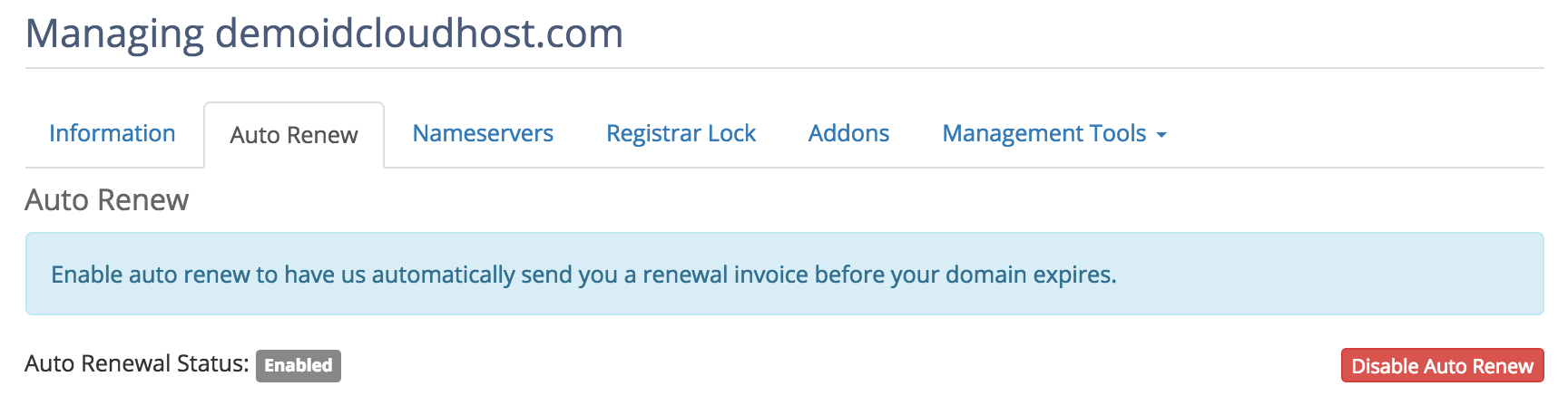 Perpanjang Masa Aktif Domain Otomatis 6