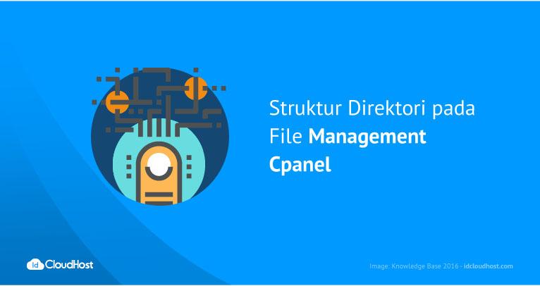 Struktur Direktori pada File Management Cpanel | IDCloudHost