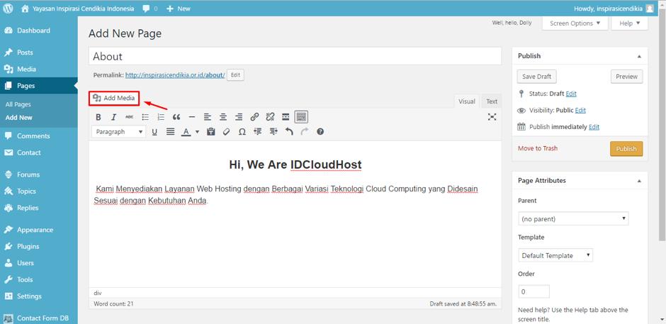 cara-membuat-page-halaman-di-wordpress-5