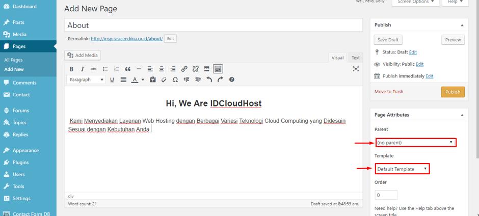 cara-membuat-page-halaman-di-wordpress-9