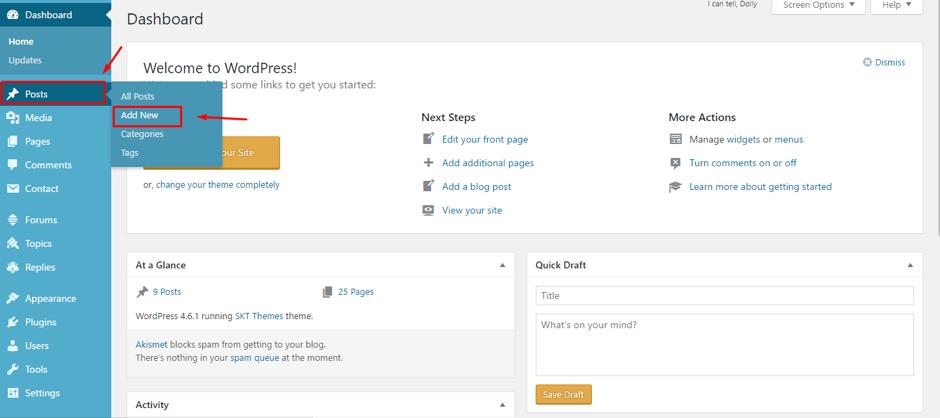 cara-membuat-postingan-di-wordpress-2