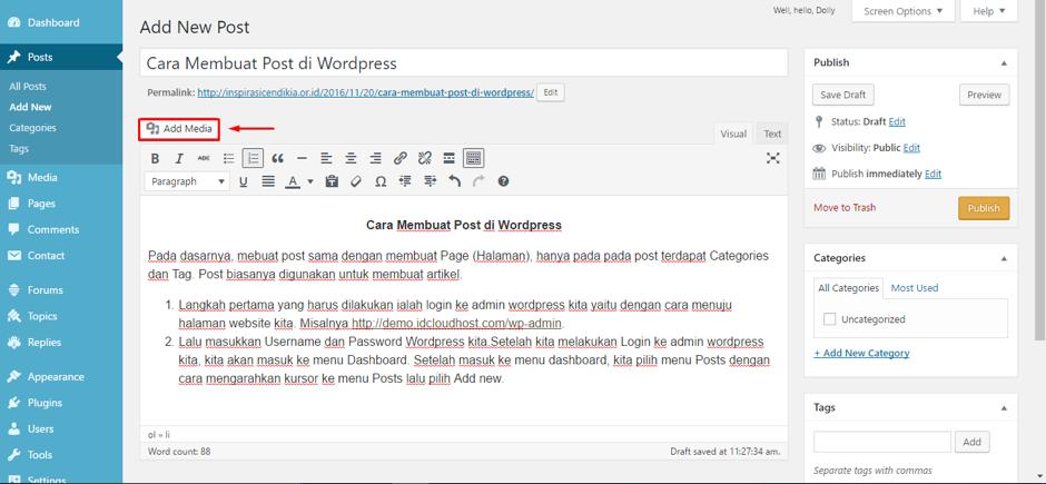 cara-membuat-postingan-di-wordpress-5