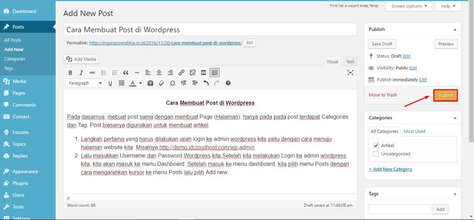 cara-membuat-postingan-di-wordpress-8