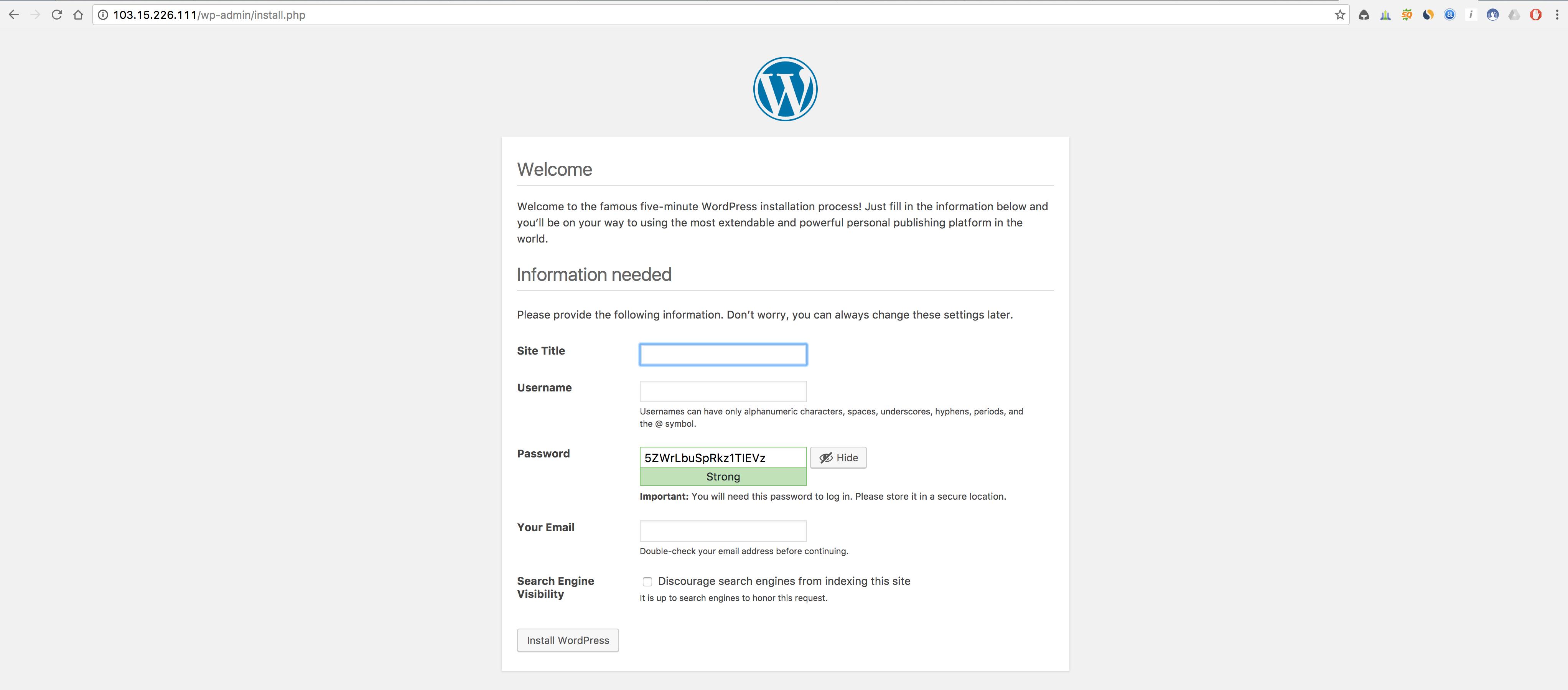 Cara Menginstall CMS WordPress di Ubuntu