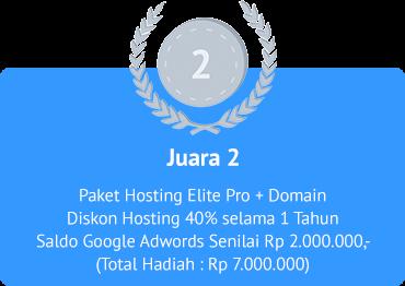 Juara 2 Lomba Blog IDcloudHost