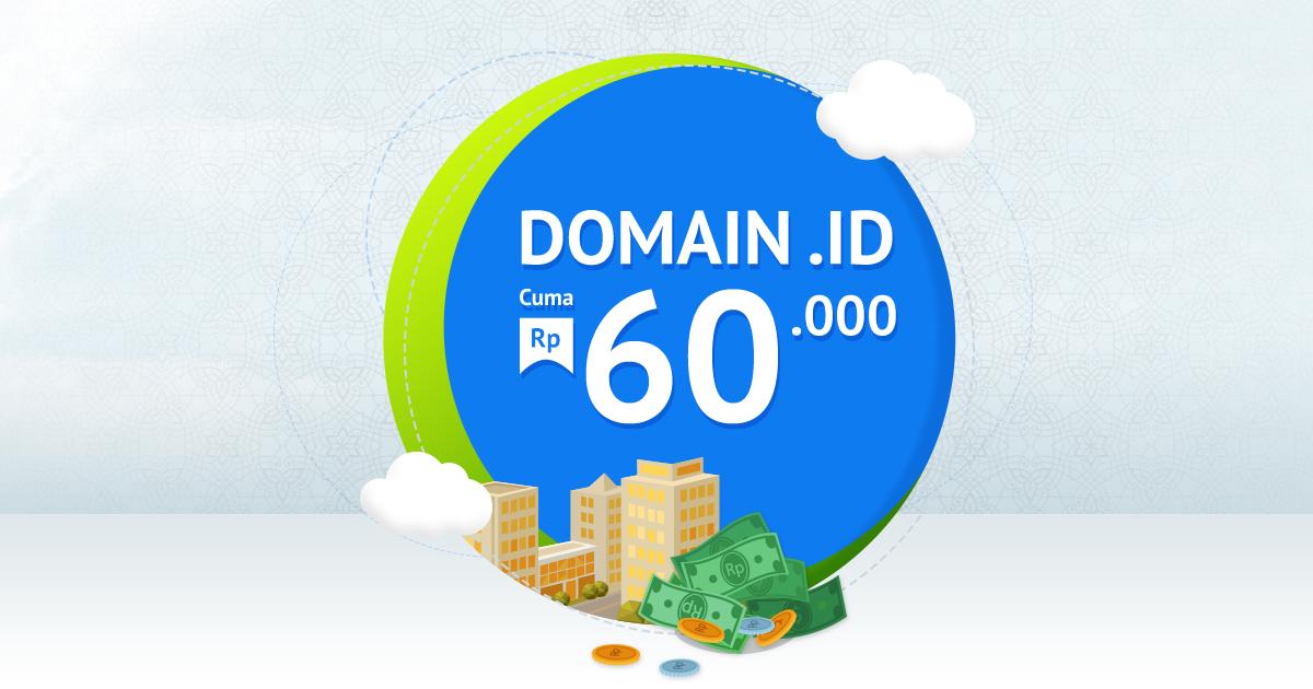 Promo Daftar Domain ID 2017
