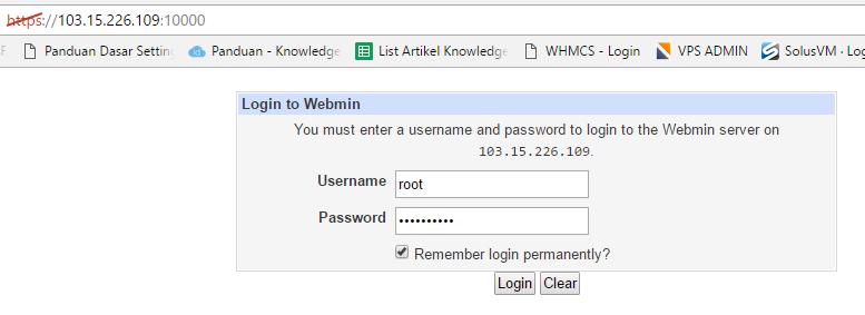 Cara Menginstall Webmin di CentOS