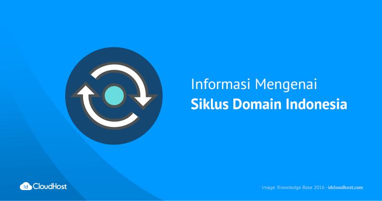 Informasi Mengenai Siklus Domain Indonesia
