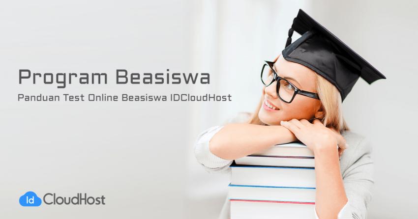 Panduan Test Online Beasiswa IDCloudHost - Telkom University