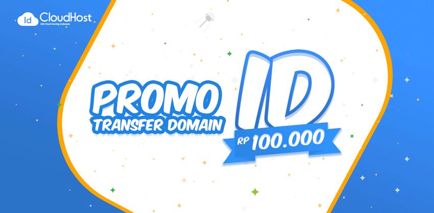 Promo Transfer Domain ID - Rp 100.000!