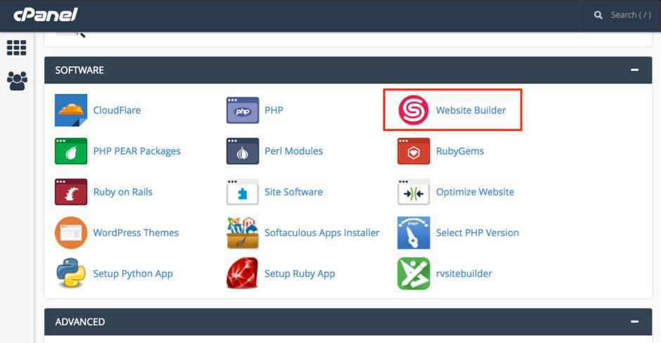 Cara Menambah Situs Baru di Website Builder