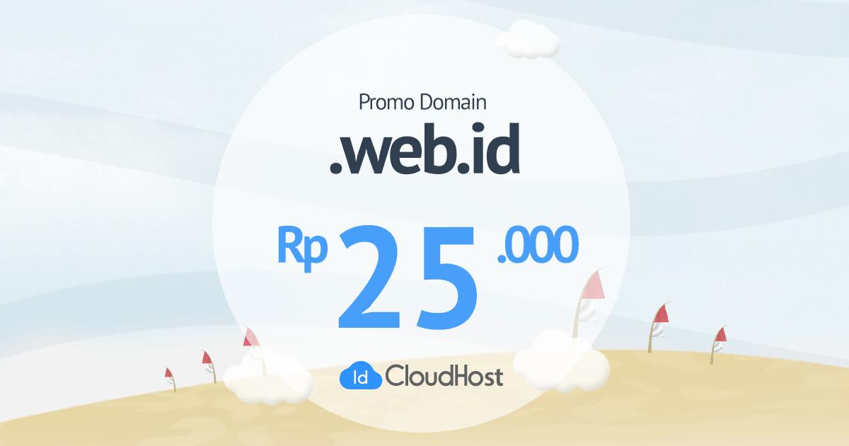 Kejutan Promo Domain WEB.ID Murah
