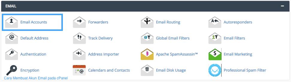 Cara Membuat Akun Email pada cPanel