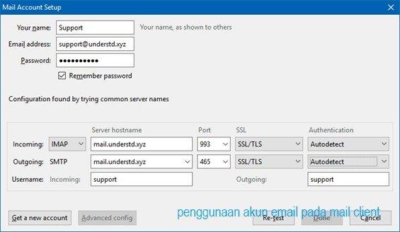 Panduan Membuat Email SMTP dari CPanel