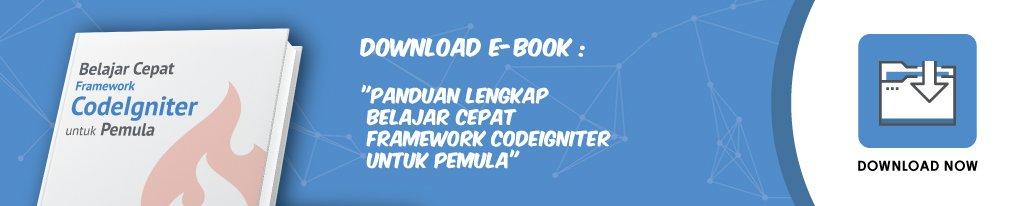 Ebook Panduan lengkap Framework CodeIgniter IDCloudHost