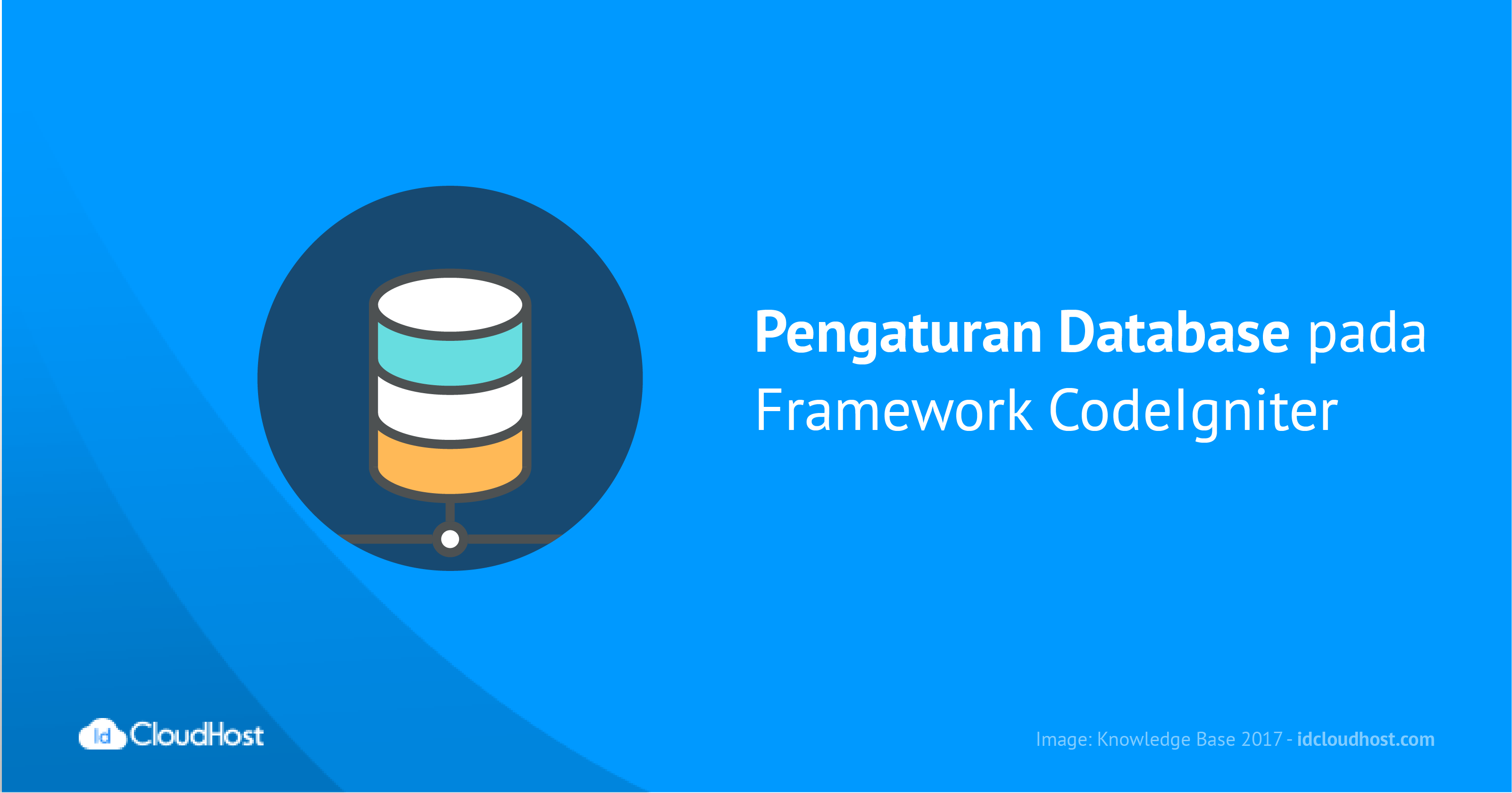 Pengaturan Database pada Framework CodeIgniter