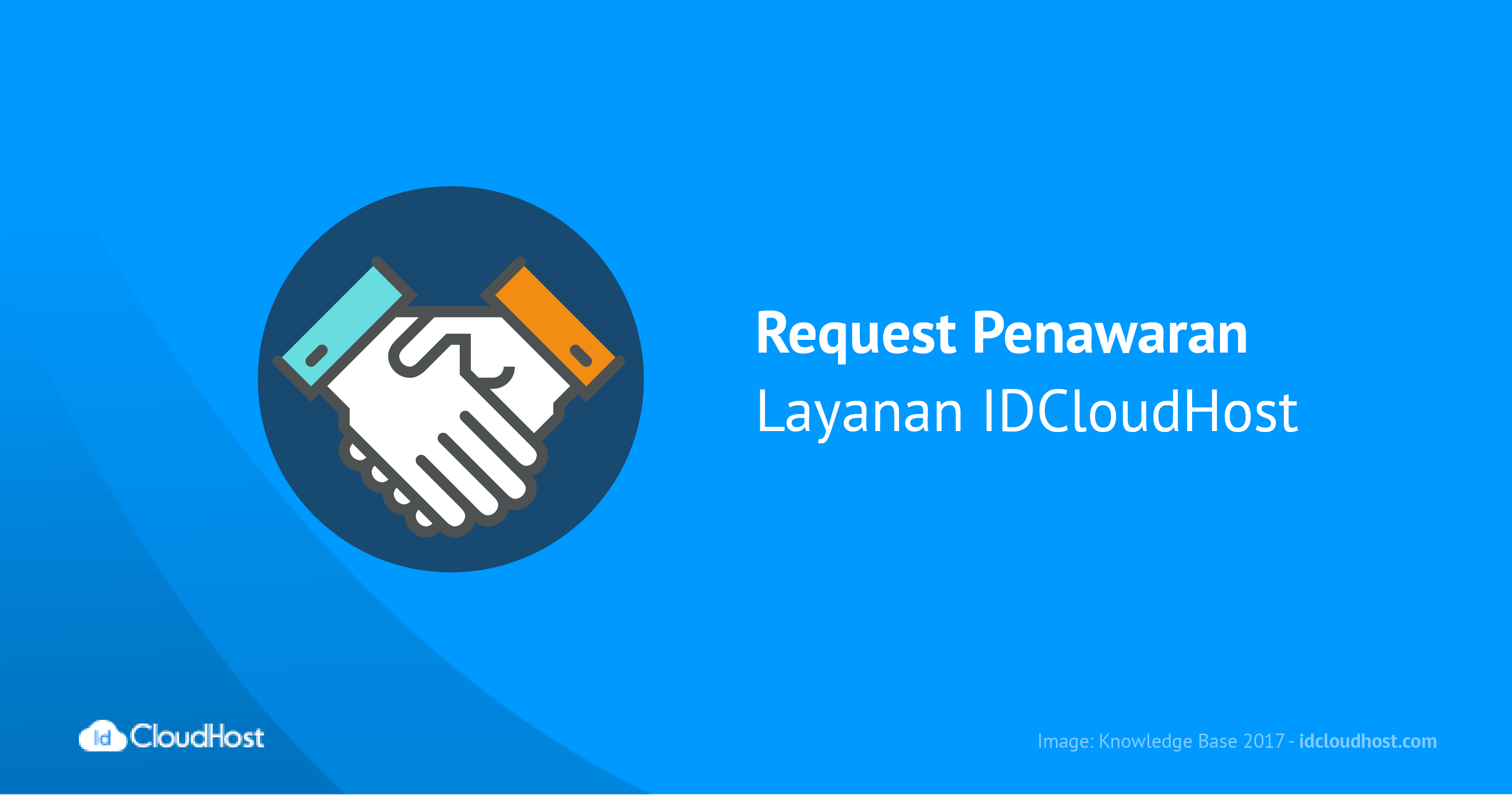 Request Penawaran Layanan IDCloudHost