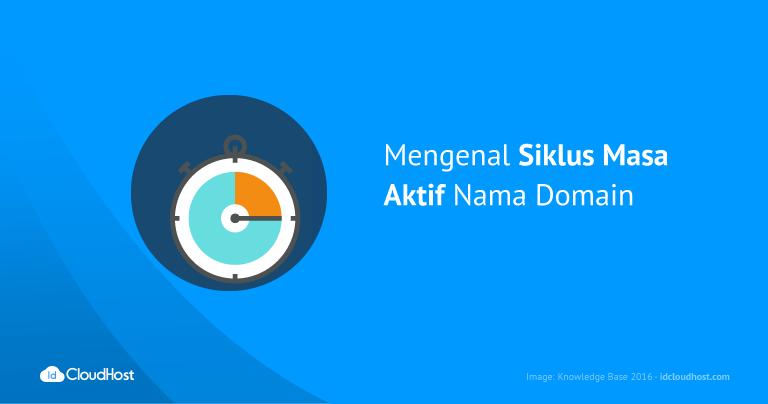Mengenal Siklus Masa Aktif Nama Domain