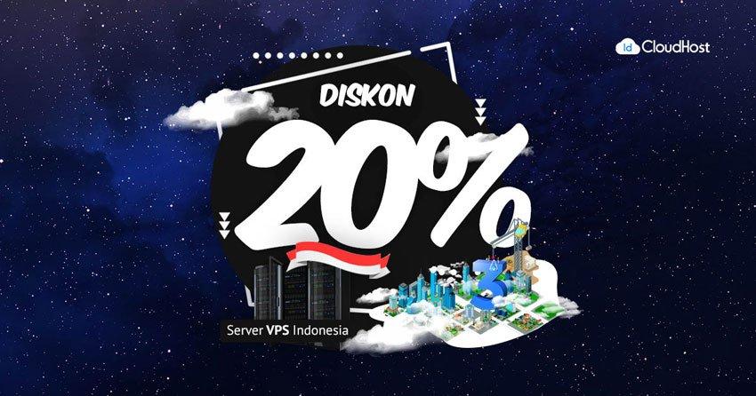 Promo VPS Indonesia (Diskon 20%) | IDCloudHost