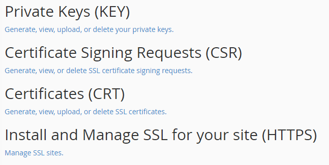 Cara Install Comodo PositiveSSL di cPanel