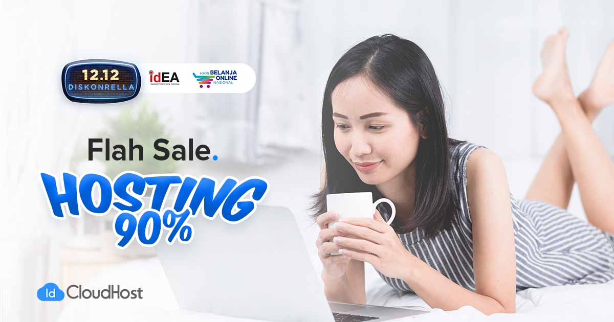 Promo Harbolnas 2019 - Promo Flash Sale Hosting IDcloudhost