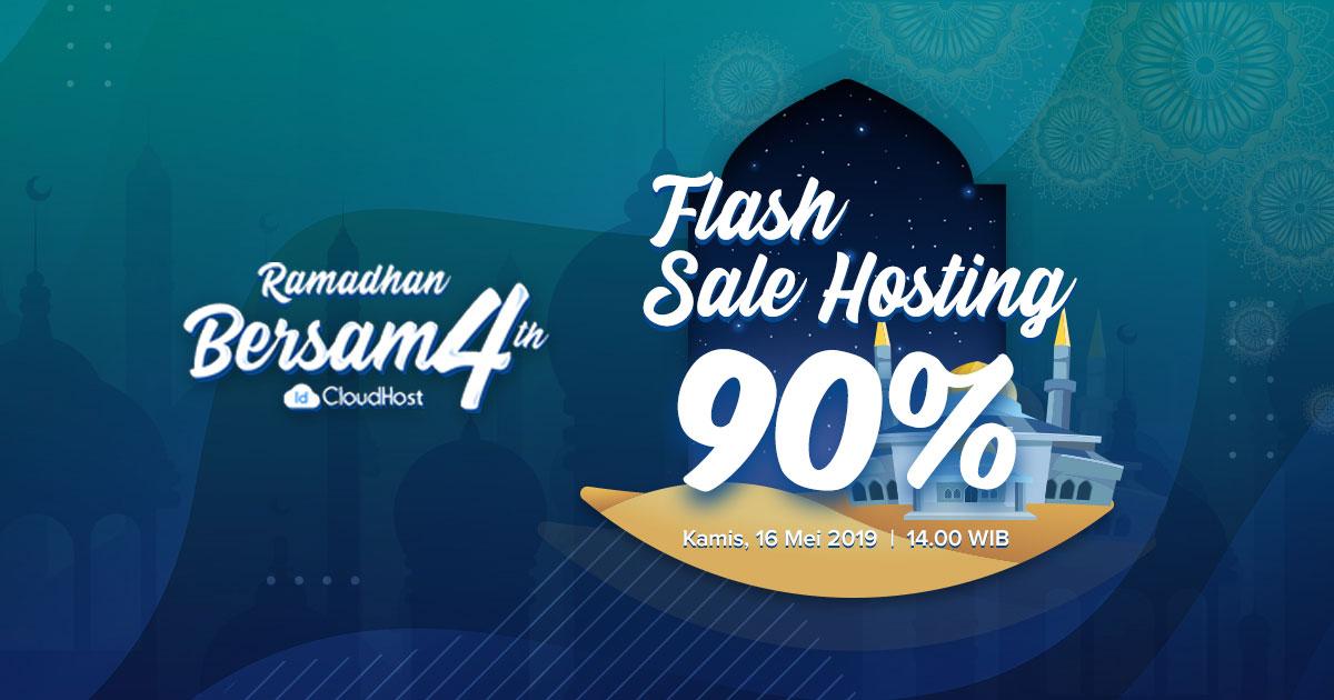 Promo Ramadhan IDCloudhost - Flash Sale Dikson 90% Hosting
