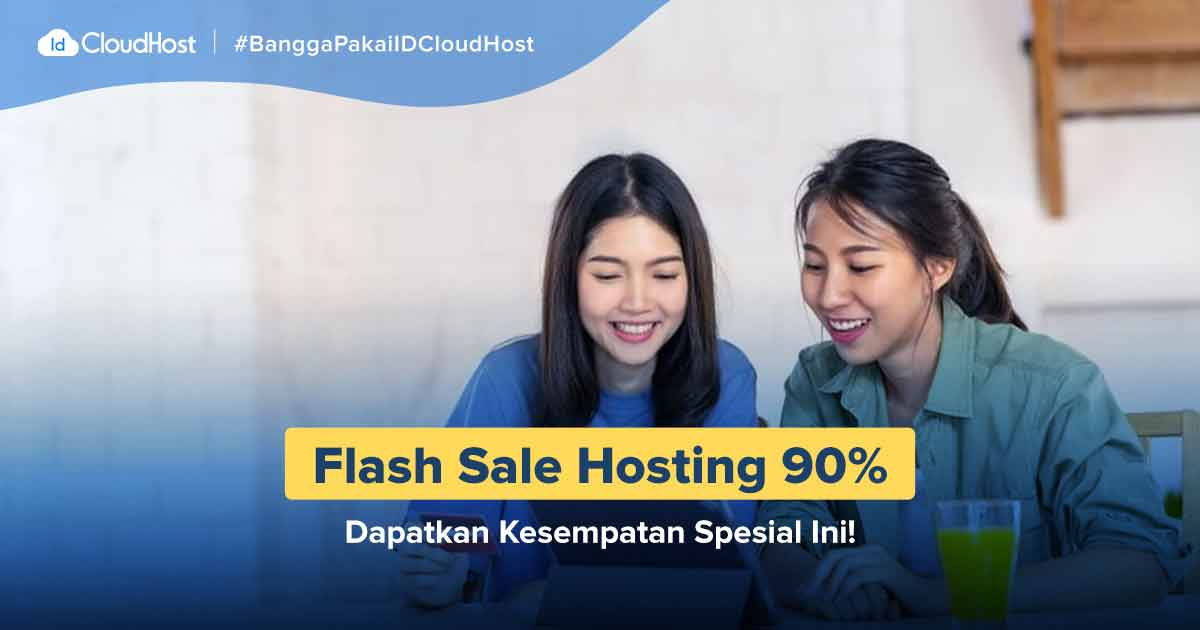 Promo Movember 2019 - Promo Flash Sale Hosting IDcloudhost