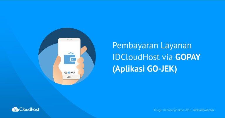Pembayaran Layanan IDCloudHost via GOPAY