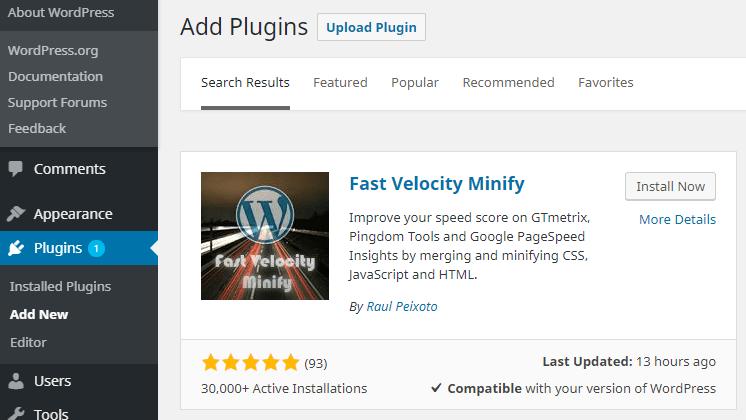 Tutorial Cara Minify WordPress Files