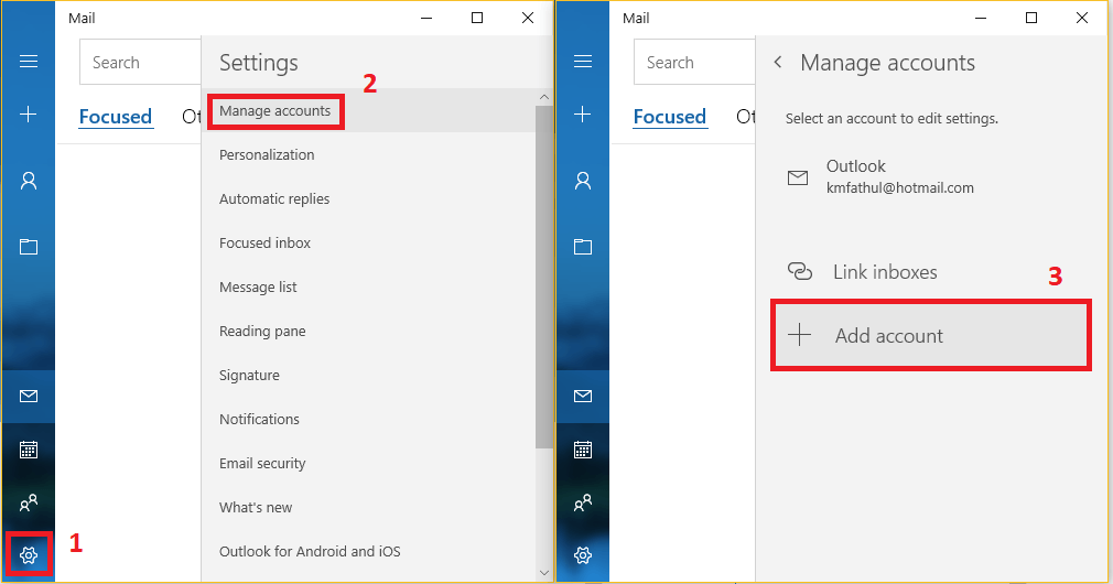 Cara Menambahkan Email Hosting di Aplikasi Mail Bawaan Windows 10